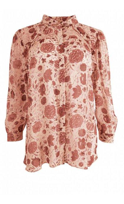 Second Female Bohemia Shirt Cameo Rose