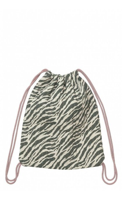 Becksondergaard Baird Zebra Bag Forest Night