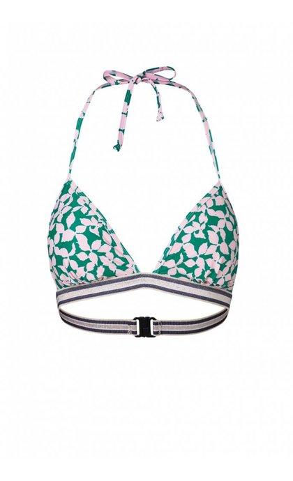 Becksondergaard Bikini Flourish Bikini Top Pepper Green