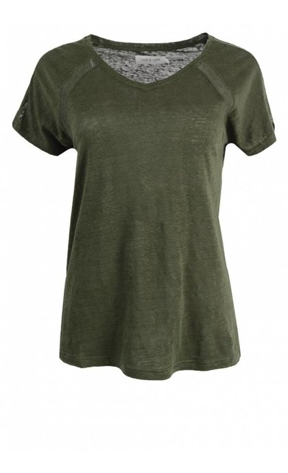 Indi & Cold VV18RS246 T-Shirt Militar