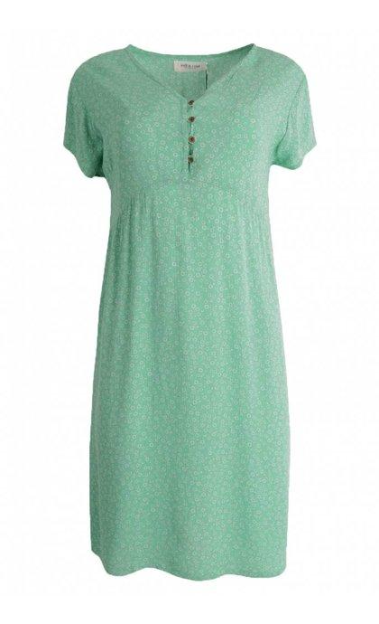 Indi & Cold VV18MI318 Dress Salvia