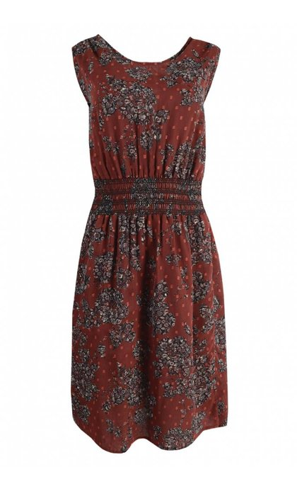 MKT Studio Ripily Dress Bordeaux