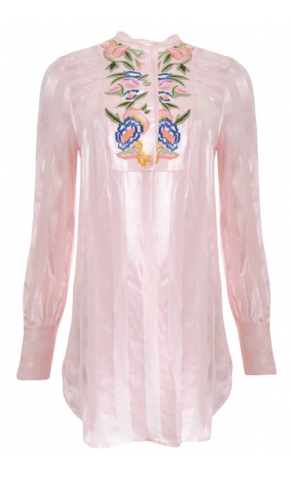 French Connection Katalina Collarlss Shirt Teagown