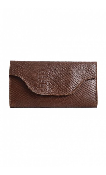 MYOMY Do Goods MY CARRY BAG Wallet Anaconda Brandy