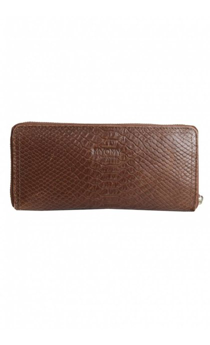 MYOMY Do Goods Wallet Large Anaconda Brandy