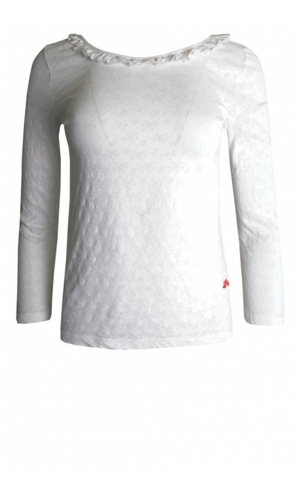 Leon & Harper Taylor T-shirt Pointel White