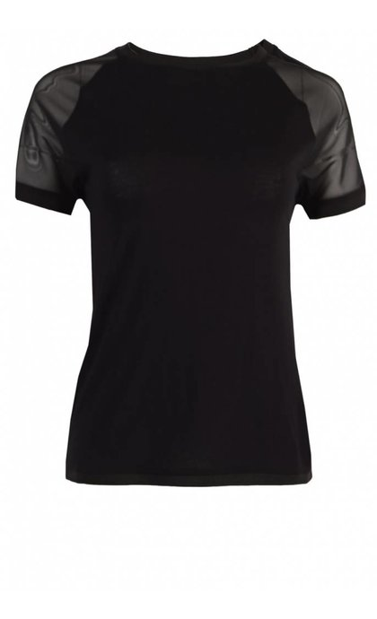 Tigha Delilah T-Shirt Black