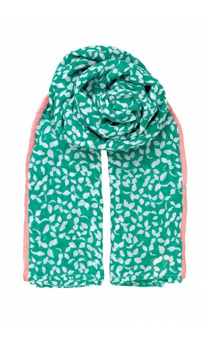 Becksondergaard Flourish Scarf Pepper Green
