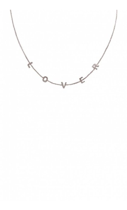 Wildthings Collectables Lover Necklace Silver