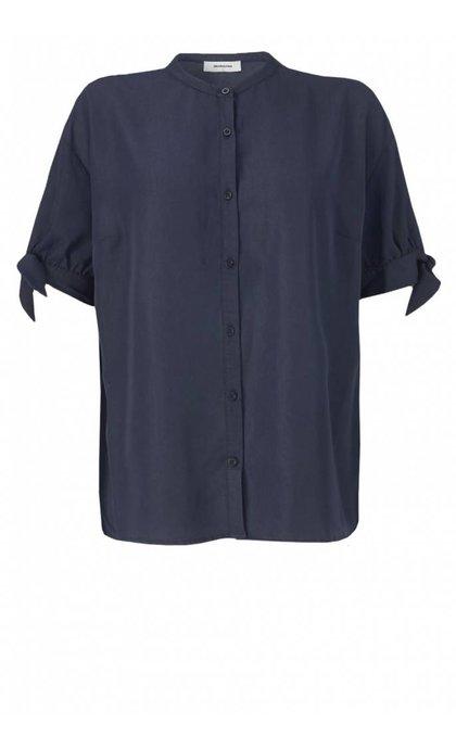 Modstrom Glenn Shirt Navy Sky