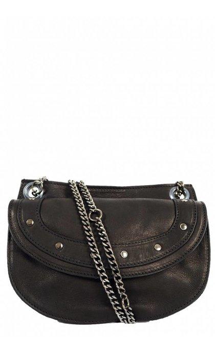 Elvy Emilie Chain Bag Black