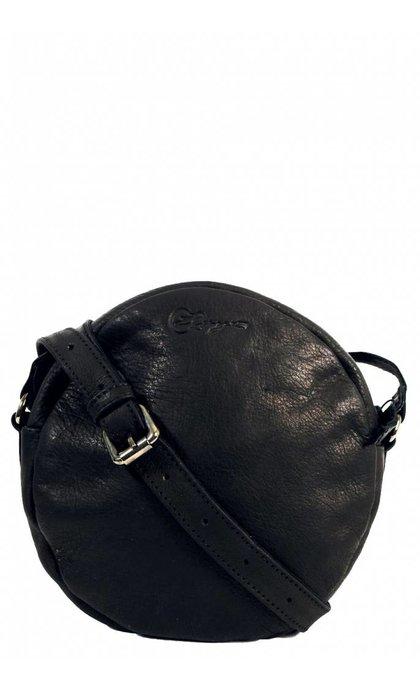 Elvy Lily Round Bag Black