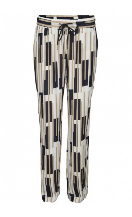 Minus Lai Pants Broken Stripe Print
