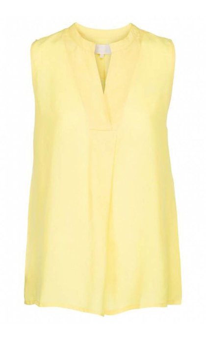 Minus Tonje Top Yellow Cream