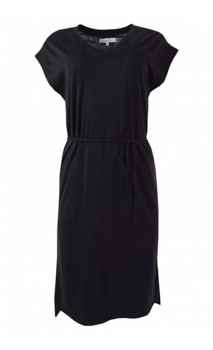 Second Female Airy Dress Black