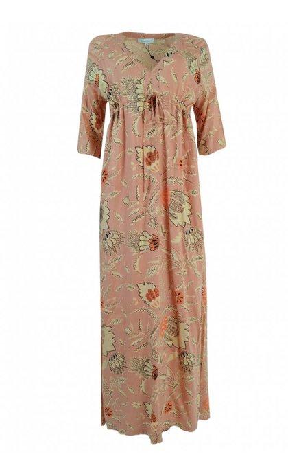 Second Female Fresco Dress Dusty Pink