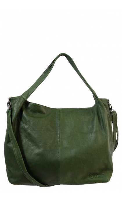 Elvy Sofie Small Shopper Verde