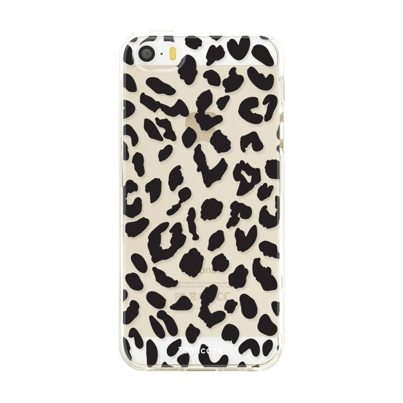 Apple Iphone SE Handyhülle - Leopard