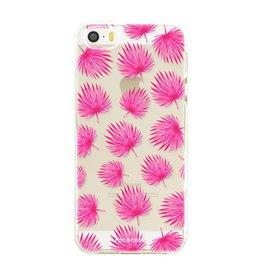 Apple Iphone SE - Pink leaves