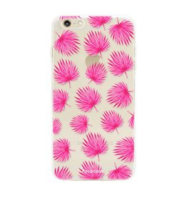 Apple Iphone 6 Plus - Pink leaves
