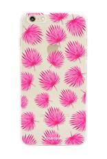 Apple Iphone 6 / 6S Handyhülle - Rosa Blätter
