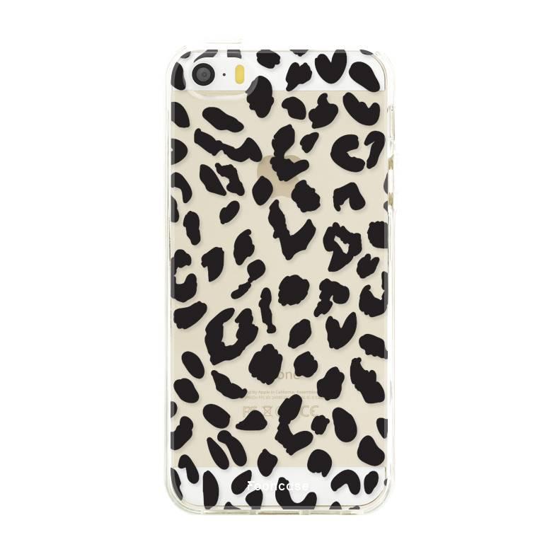 Apple Iphone 5 / 5S hoesje - Luipaard print