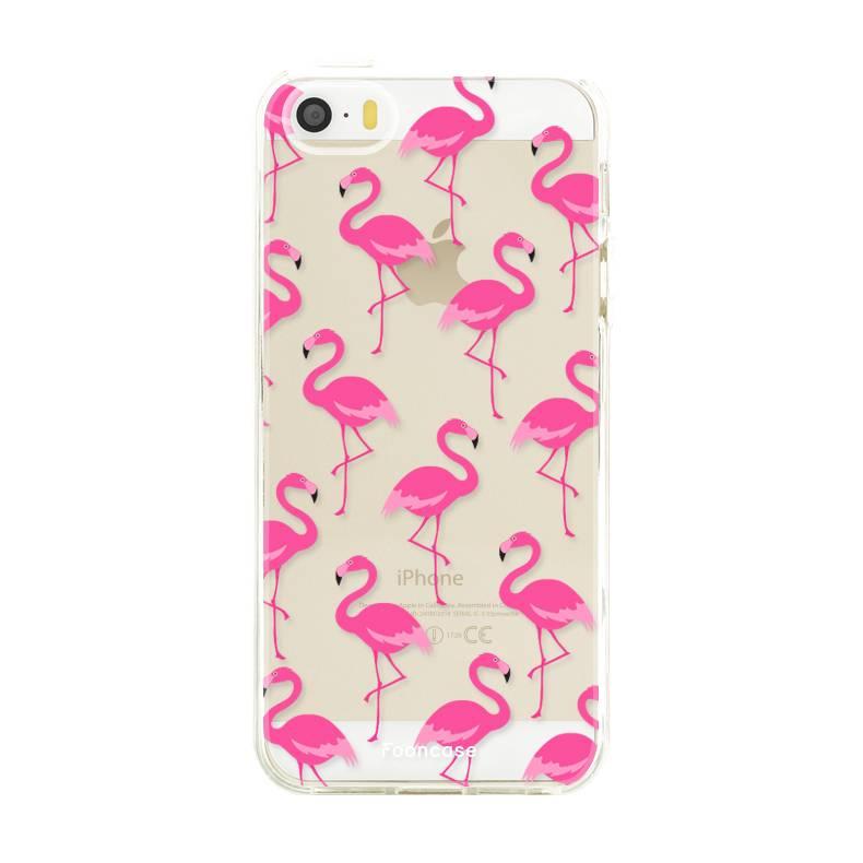 Apple Iphone 5 / 5S Handyhülle - Flamingo