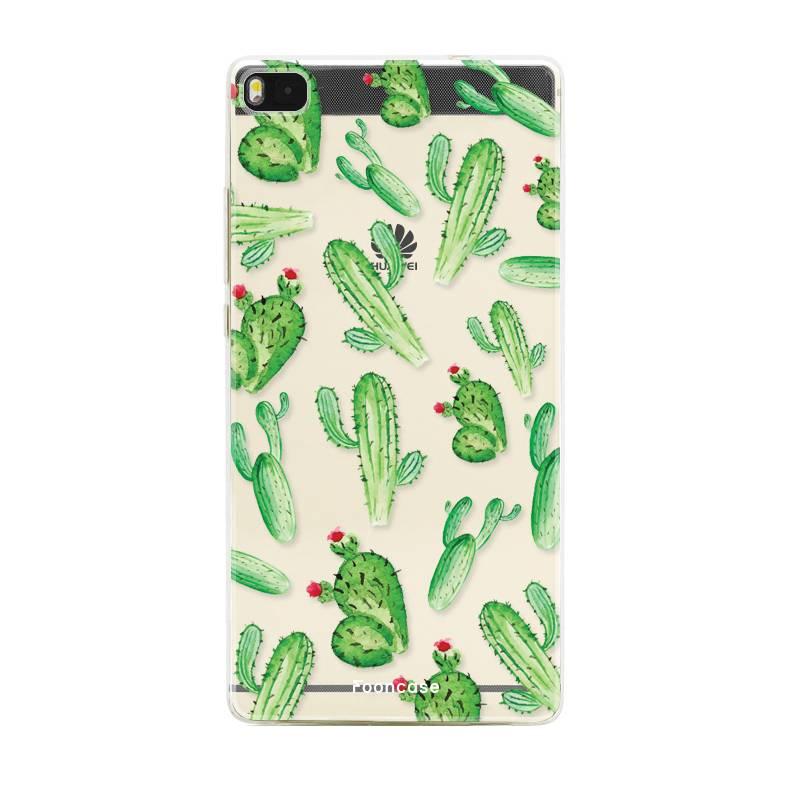 Huawei Huawei P8 Handyhülle - Kaktus