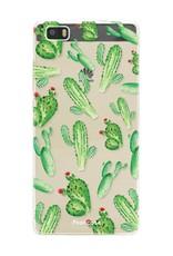 Huawei Huawei P8 Lite Handyhülle - Kaktus