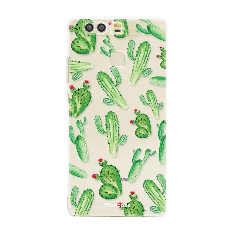 Huawei Huawei P9 Handyhülle - Kaktus