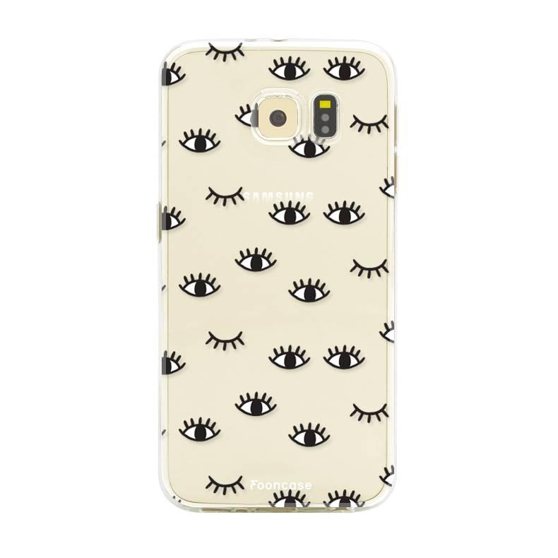 Samsung Samsung Galaxy S6 Handyhülle - Eyes