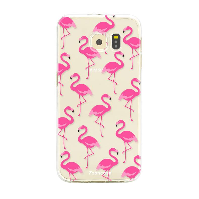 Samsung Samsung Galaxy S6 Edge Handyhülle - Flamingo