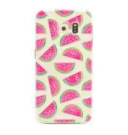 Samsung Samsung Galaxy S6 Edge - Watermeloen