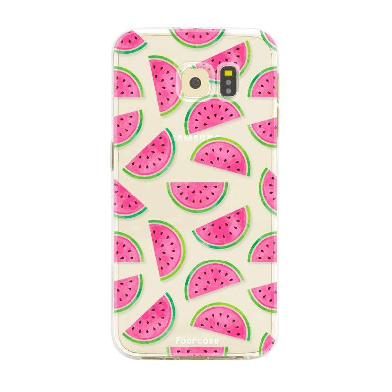 Samsung Samsung Galaxy S6 Edge Handyhülle - Wassermelone