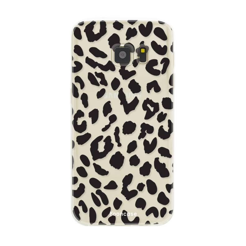 samsung s8 custodia libro leopardo