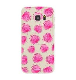 Samsung Samsung Galaxy S7 - Pink leaves