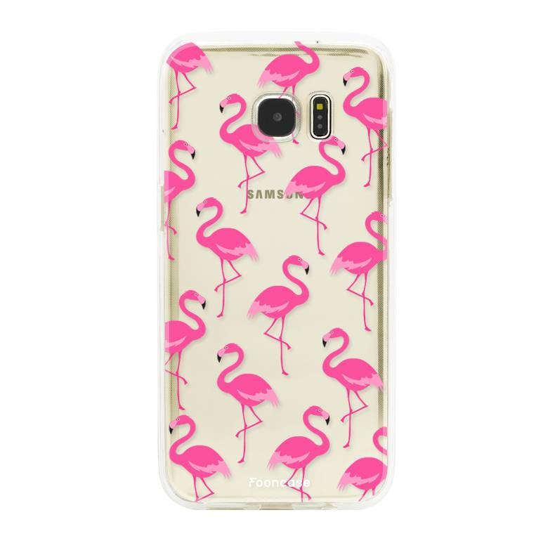 samsung s6 phone case flamingo