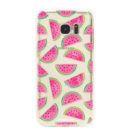 Samsung Samsung Galaxy S7 Edge - Watermeloen