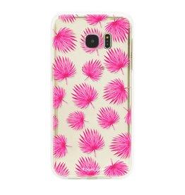 Samsung Samsung Galaxy S7 Edge - Rosa Blätter