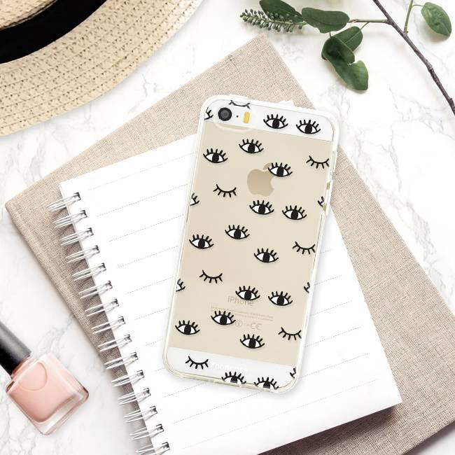 Apple Iphone 5 / 5S Handyhülle - Eyes