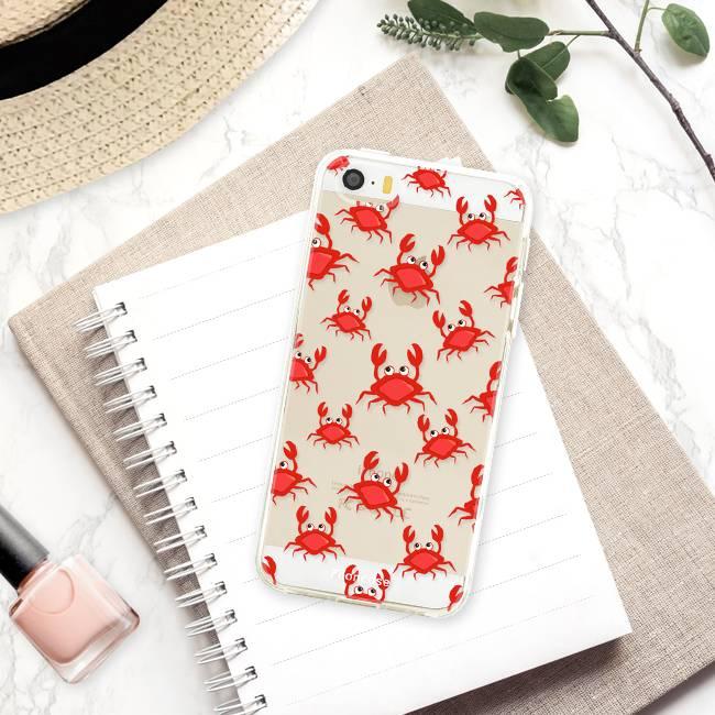 Apple Iphone SE Handyhülle - Krabben