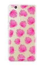 Huawei Huawei P10 Lite Handyhülle - Rosa Blätter