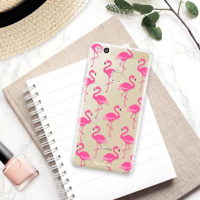 Huawei Huawei P10 Lite Handyhülle - Flamingo