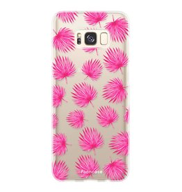 Samsung Samsung Galaxy S8 - Pink leaves