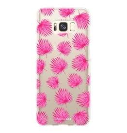 Samsung Samsung Galaxy S8 - Rosa Blätter