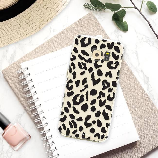 Samsung Samsung Galaxy S6 Edge Handyhülle - Leopard