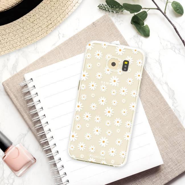Samsung Samsung Galaxy S6 Edge Handyhülle - Gänseblümchen