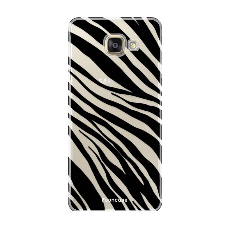Samsung Samsung Galaxy A3 2016 Handyhülle - Zebra