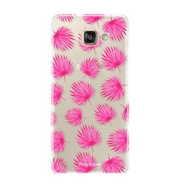 Samsung Samsung Galaxy A3 2016 - Pink leaves