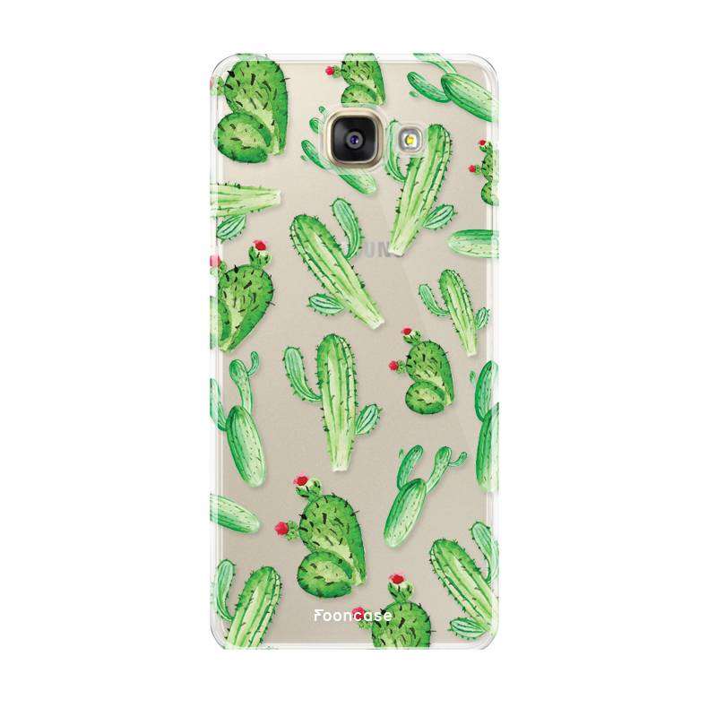 Samsung Samsung Galaxy A3 2017 Handyhülle - Kaktus